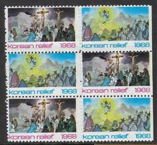 USA 1968 Poster stamps - KOREAN RELIEF Christmas Seals  - ow390