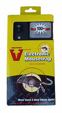 Victor M2524 Electronic Mouse Trap Poison Free Green Light Indicates Kill NEW