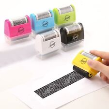Wide Roller Stamp Identity Theft Paper Stamp 1.5 Inch Perfect Privacy Protection