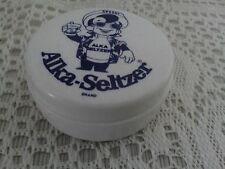 ALKA  SELTZER SPEEDY TRAVELING CUP VINTAGE PILL BOX AND DRINKING CUP