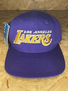 Vintage 90s / Los Angeles Lakers Starter Snapback Hat Cap