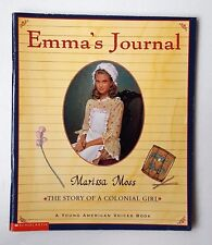1999 Paperback Children's Book  Emma's Journal by Marissa Moss  Young American