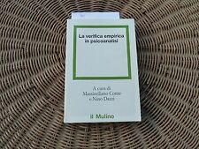 La verifica empirica in psicoanalisi Massimiliano Conte Nino Dazzi il Mulino