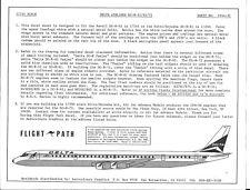 Flight Path Delta Airlines DC-8- 51/61/71 Decals 1/144 FP44 31