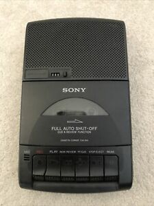 Vintage Sony TCM-939 Portable Cassette Corder Recorder Player Working