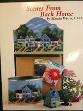 New ListingTole Painting Decorative Instructions Marsha Weiser Scenes From Back Home