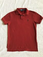 Men's  Polo by Ralph Lauren Short Sleeve Shirt Red Size Small
