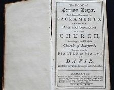 1766 Church of England-Three works with Manuscript Poetry signed Elizabeth Knipe