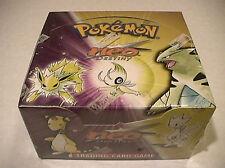 Pokemon NEO DESTINY  Factory Sealed Unlimited Booster Box 36 Packs - Nice Box