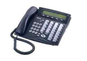 Lot of (5) Refurbished Tadiran Coral Flexset IP 280S Display IP Phone (Charcoal)