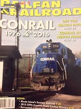 Railfan & Railroad Magazine Conrail In North Jersey April 2016 011518nonrh