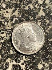 1903 Hong Kong 5 Cents Lot#Q2150 Silver! High Grade! Beautiful!