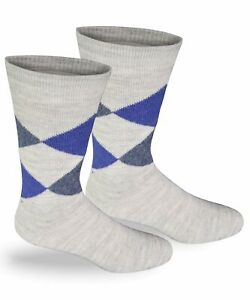 Highlander Argyle Alpaca Dress Socks