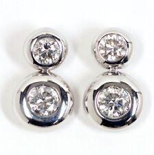 GEORG JENSEN aurora drop earrings 750WG