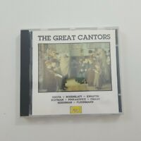 The Great Cantors CD 1990 Pearl Jewish Traditional