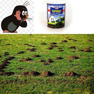 Maulwurf Gift 150 Gramm frischer Köder töten Maulwürfe .