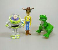 Toy Story 3 Figuren Woody Buzz Lightyear Rex Disney
