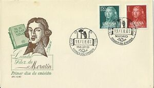 Spain 1961 First Day Cover - Moratin