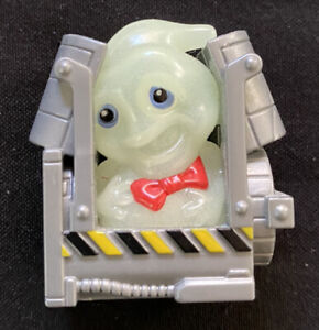 Mattel Ghostbusters Mini Figure Tiny Ghost In Trap DRTO6 Ghost