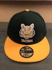 Tacoma Tigers New Era 59Fifty Hat 7 1/8 MiLB Made In USA Athletics A's Rainiers