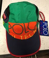 POLO RALPH LAUREN HI TECH LIMITED EDITION S/M PATCH HAT CAP NEW With Tags