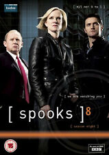 SPOOKS COMPLETE BBC SERIES 8 DVD Peter Firth Hermione Norris UK New Sealed R2