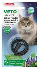 Collier Insectifuge Réfléchissant Beaphar pour chats