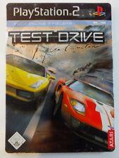 !!! PLAYSTATION PS2 SPIEL Test Drive Steelbook, gebraucht aber GUT !!!