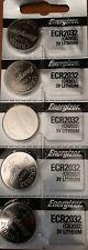 Energizer ECR2032 CR 2032 (5 piece) Lithium 3V Battery New Authorized Seller
