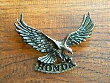 "HONDA EAGLE I MOTORCYCLE VEST PIN ~2-1/2"" x 1-3/4"" LAPEL HAT BADGE BROCHE BIKER"