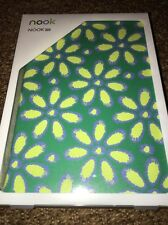 "NOOK 7"" HD TRI-COLORED DAISY COVER EMERALD/VINE NIB Barnes & Noble 9780594484783"