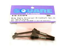 Square R/C Wide-Angle Universal Drive Shaft Set, 33mm Axle for Tamiya TT-01R