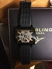 Stuhrling mens Automatic skeleton mechanical watch used  good condition