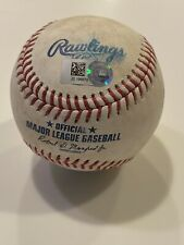 MLB Authenticated - Shogo Akiyama Game-Used Ball vs. Chad Kuhl