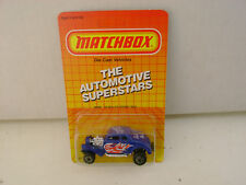1987 MATCHBOX SUPERFAST MB 69 BLUE '33 WILLY'S STREET ROD WHITE HEAT NEW ON CARD