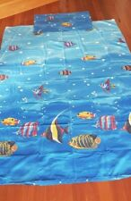FISH SINGLE DOONA COVER AND PILLOWCASE