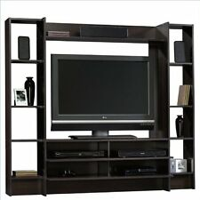Home Entertainment Cabinet TV Stand Center Wood Storage Console Media Furniture