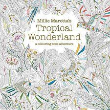 Millie Marotta's Tropical Wonderland Adult Colouring Book FAST POST 1849942854