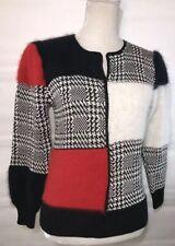 Nannell Vintage Angora Rabbit Hair Wool Blend Sweater Women's Size Small Luxury