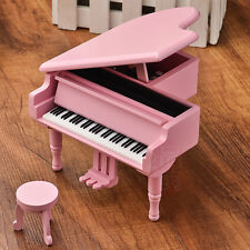 WOOD PINK PIANO WIND UP MUSIC BOX : EVERGREEN @ WESTLIFE
