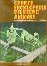 S10 Grande enciclopedia del regno animale 2 Mare praterie montagne Fabbri 1975