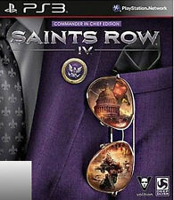 Saints Row IV -- Commander in Chief Edition (Sony PlayStation 3, 2013)
