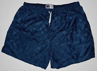 Don Alleson Navy Blue Checker Nylon Soccer Shorts - Men's 2XL