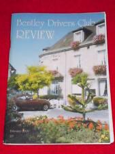 BENTLEY DRIVERS CLUB REVIEW #215 - Feb 2000