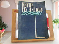 REVUE TECHNIQUE AUTOMOBILE N°37 MAI 1949 BE/TBE FORD V8