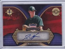 2007 Ultimate Collection Autograph Rich Harden