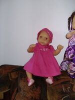 poupée italienne Chicco 42 cm habit origine