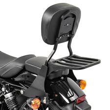 Sissy Bar +  Portapacchi per Harley Davidson Sportster 04-20 nero