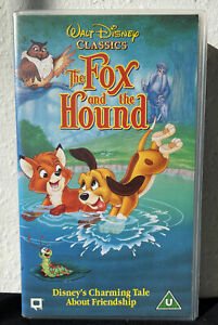 The Fox And The Hound (VHS Video Tape) Walt Disney Classics
