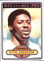 1980 Topps St. Louis Cardinals Football Card #170 Ottis Anderson RC - EX-MT